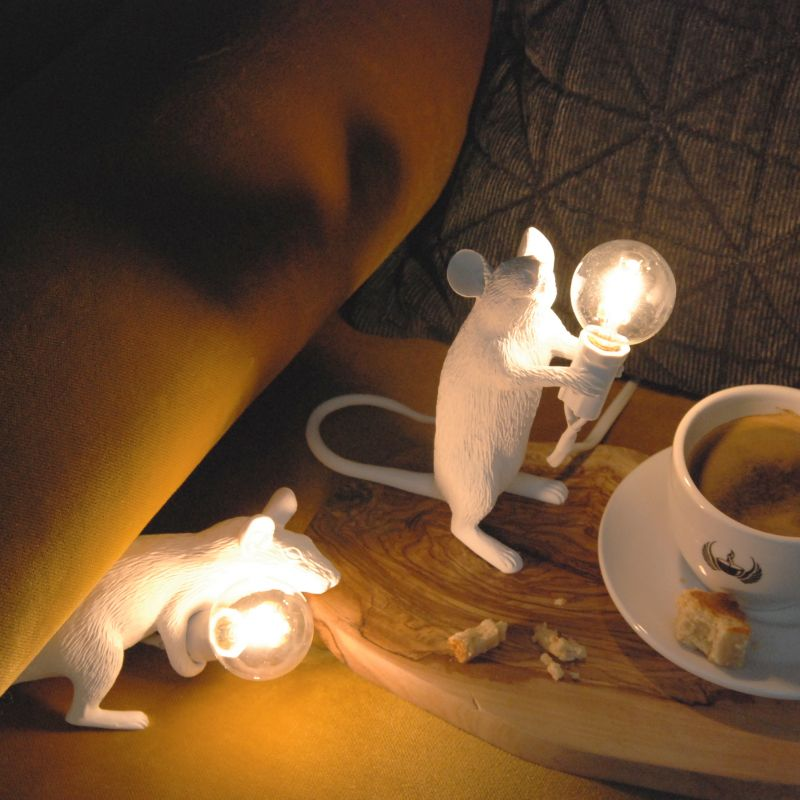 Лампа светодиодная Seletti Mouse Lamp 14884L. Фото №5