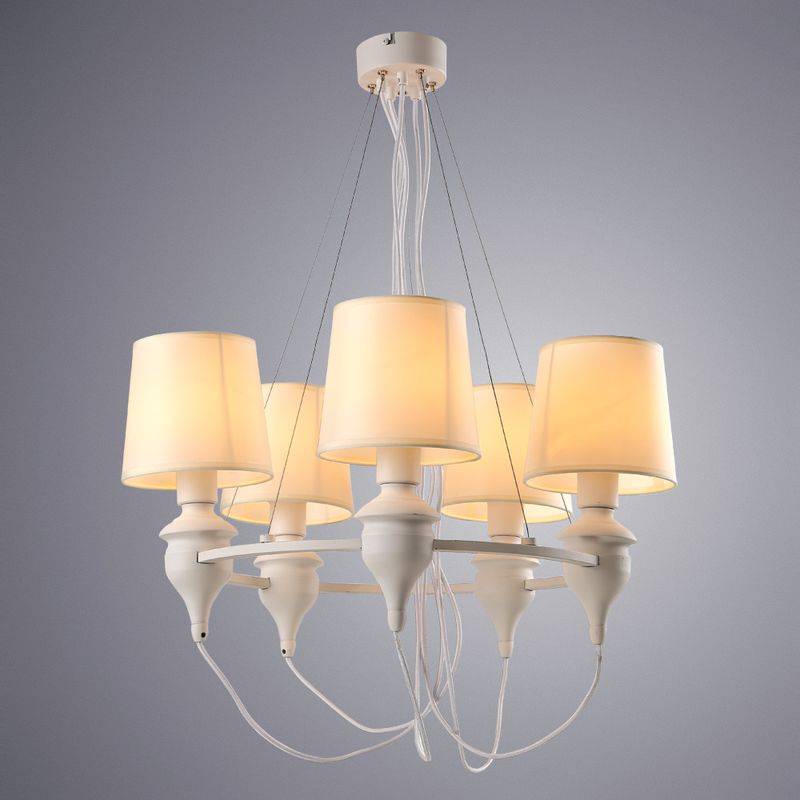 Люстра подвесная Arte Lamp Sergio A3326LM-5WH
