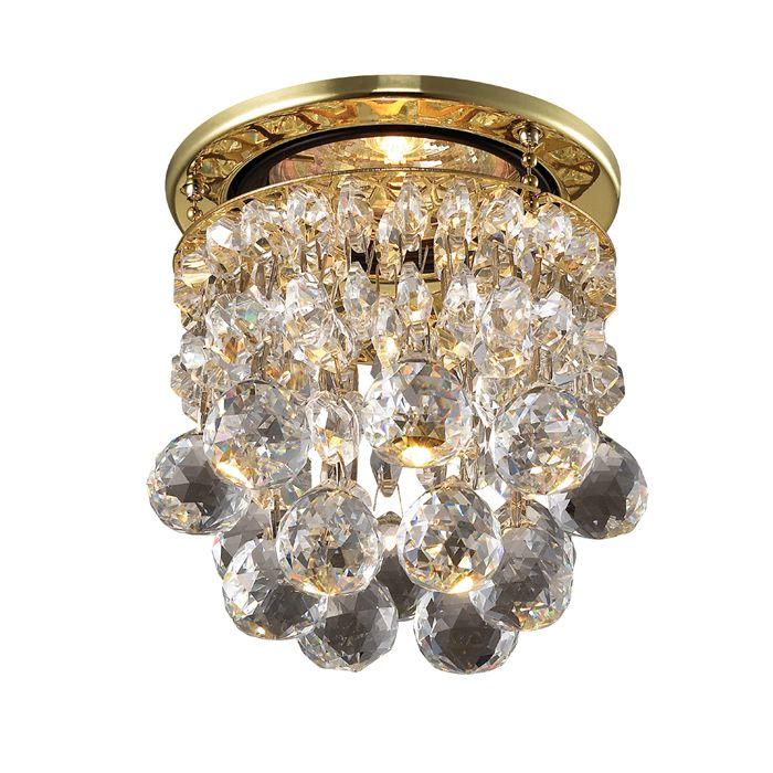 Точечный встраиваемый светильник NovoTech Drop-1 369329