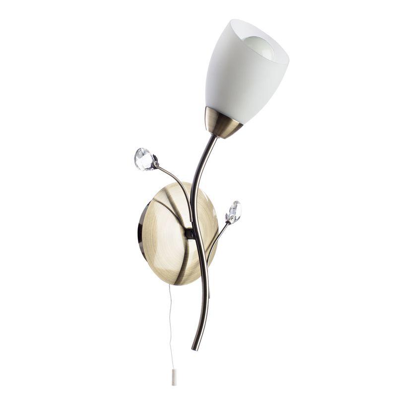Светильник настенный Arte Lamp Gardenia A2766AP-1AB
