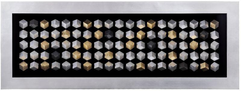 Панно 100 кубов (серебро) 16950