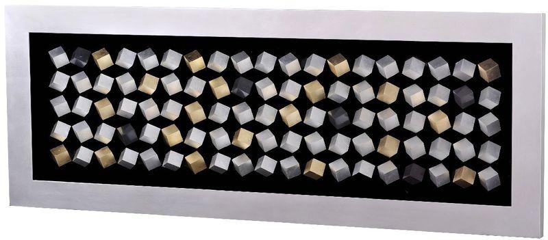 Панно 100 кубов (серебро) 16950. Фото №1