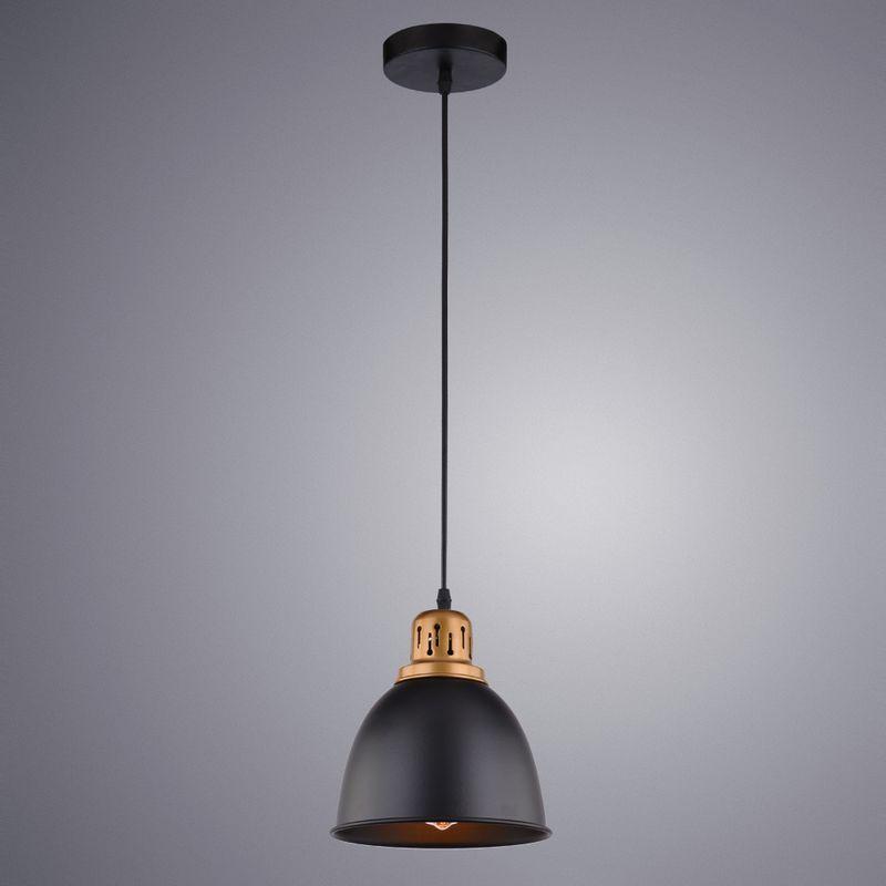 Светильник подвесной Arte Lamp Eurica A4245SP-1BK