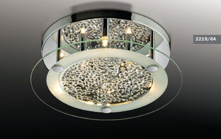 Светильник потолочный Odeon Light Sabra 2219/6A
