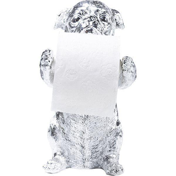 Держатель для туалетной бумаги Мопсы 38562