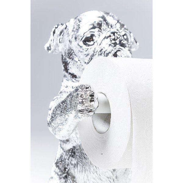 Держатель для туалетной бумаги Мопсы 38562. Фото №2