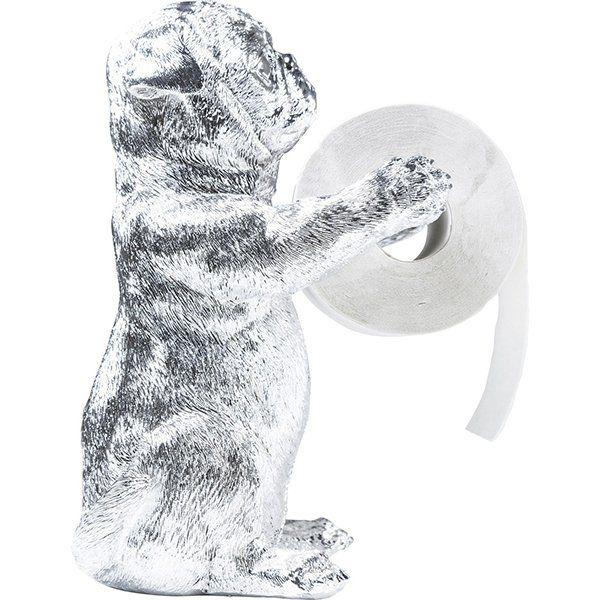 Держатель для туалетной бумаги Мопсы 38562. Фото №4