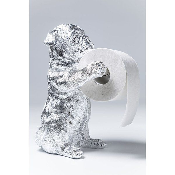 Держатель для туалетной бумаги Мопсы 38562. Фото №7