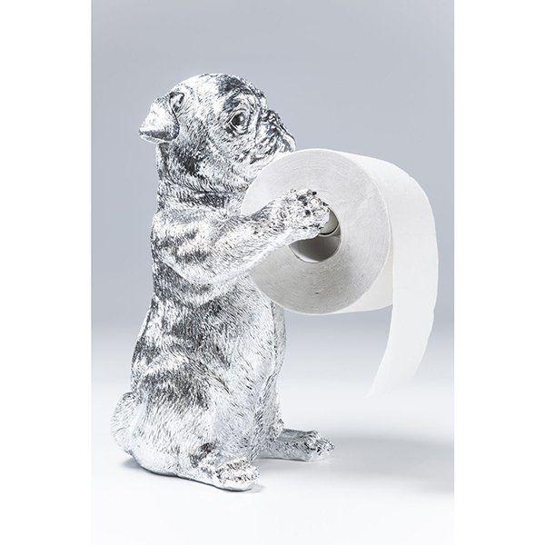 Держатель для туалетной бумаги Мопсы 38562. Фото №8
