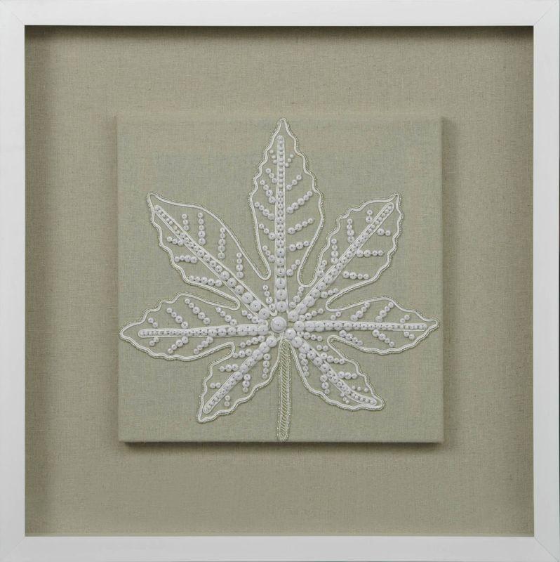 Панно Листья из бисера-1 22254A