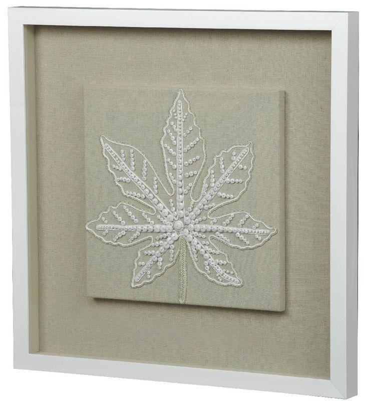 Панно Листья из бисера-1 22254A. Фото №1
