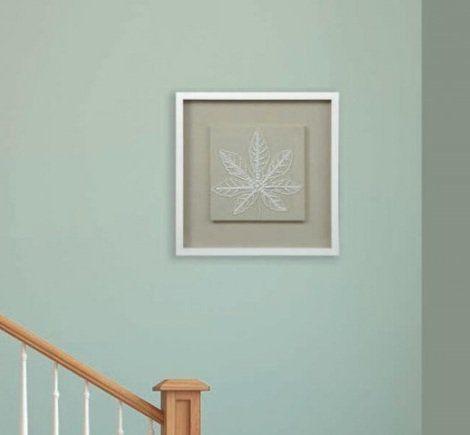 Панно Листья из бисера-1 22254A. Фото №2