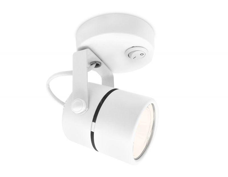Накладной точечный поворотный светильник с выключателем Ambrella TECHNO SPOT Techno TA100