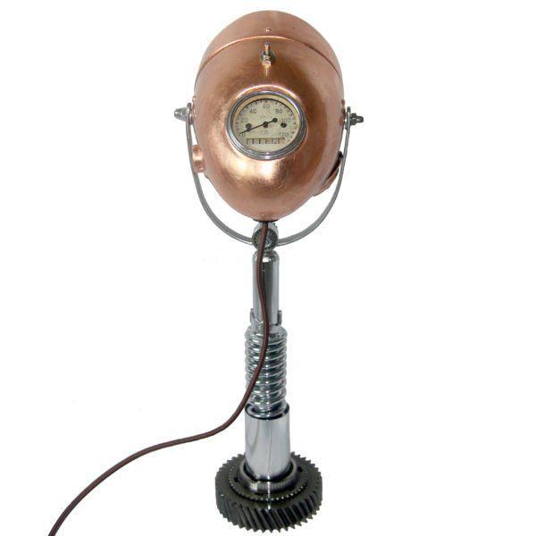 Настольная лампа VStileRetro MotoSpring VR-MS-04. Фото №1