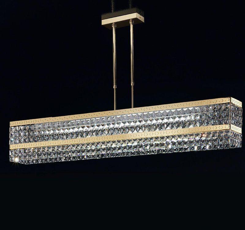 Люстра Prince 399/85N gold