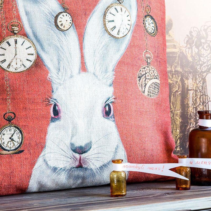 Декоративная подушка Мистер Белый Кролик 2719070. Фото №2
