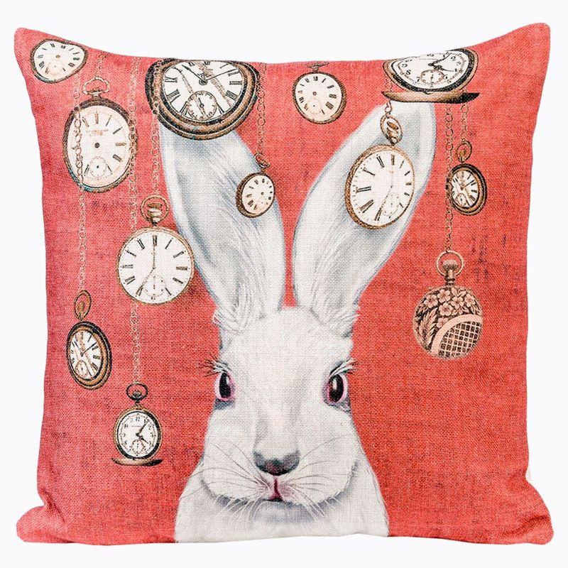 Декоративная подушка Мистер Белый Кролик 2719070. Фото №4