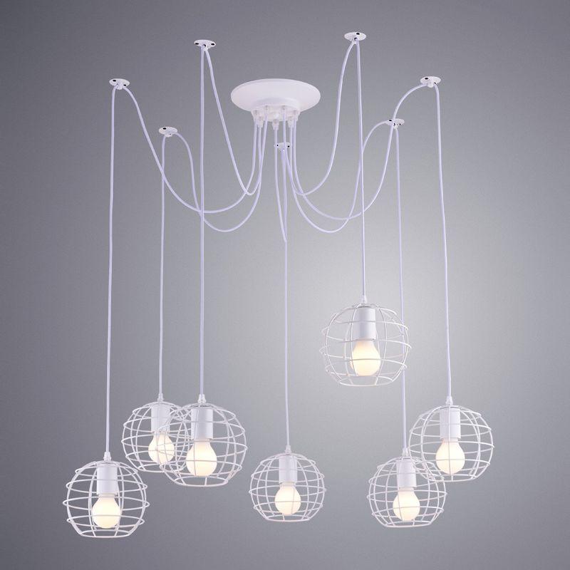 Светильник подвесной Arte Lamp A1110 A1110SP-7WH