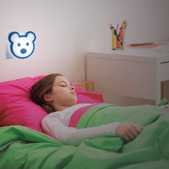 Светильник-ночник (в розетку) светодиодный с выключателем NovoTech night light 357335. Фото №3