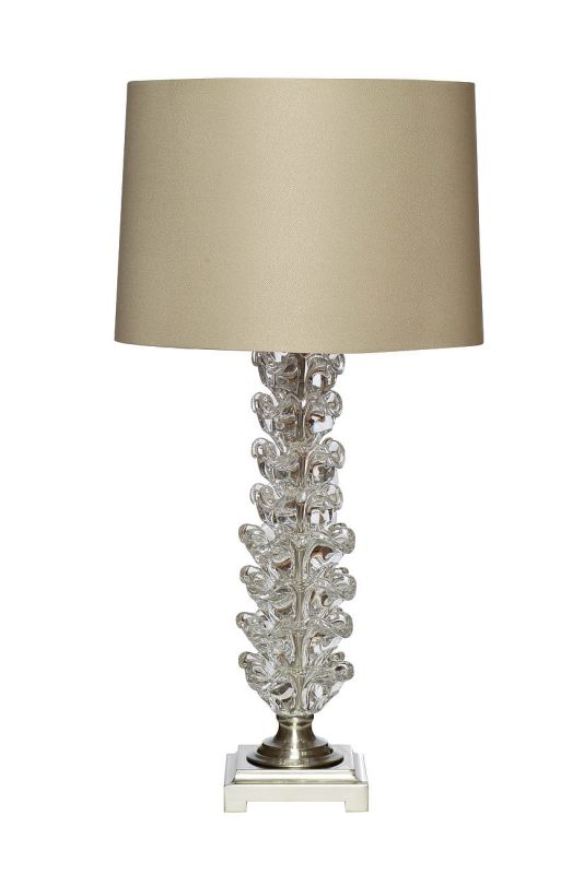 BD-119518 Лампа настольная плафон коричневый Д38,В78