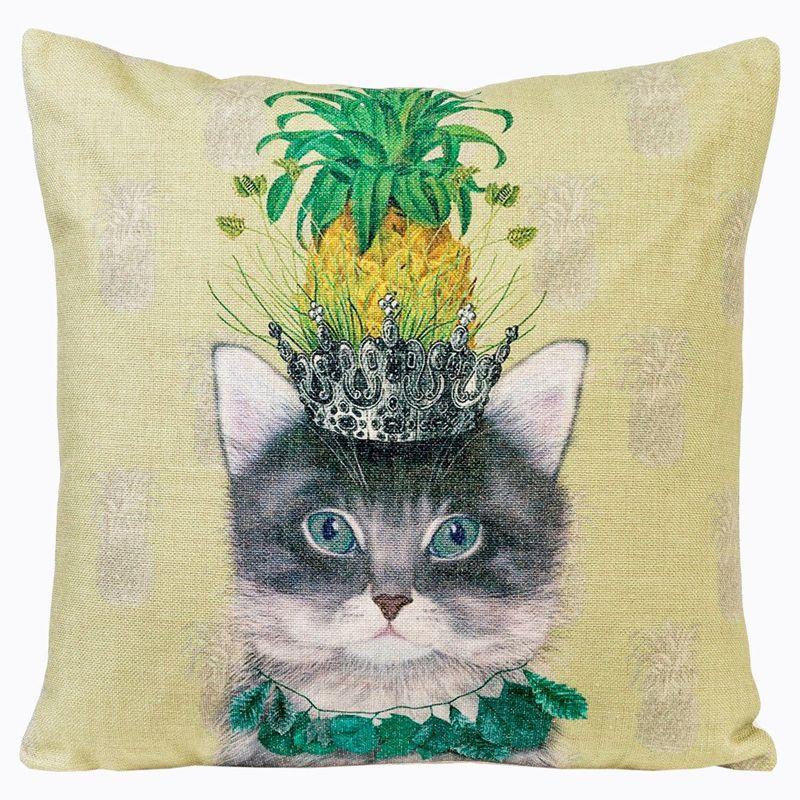 Декоративная подушка Принцесса Бромелия 2719082. Фото №3