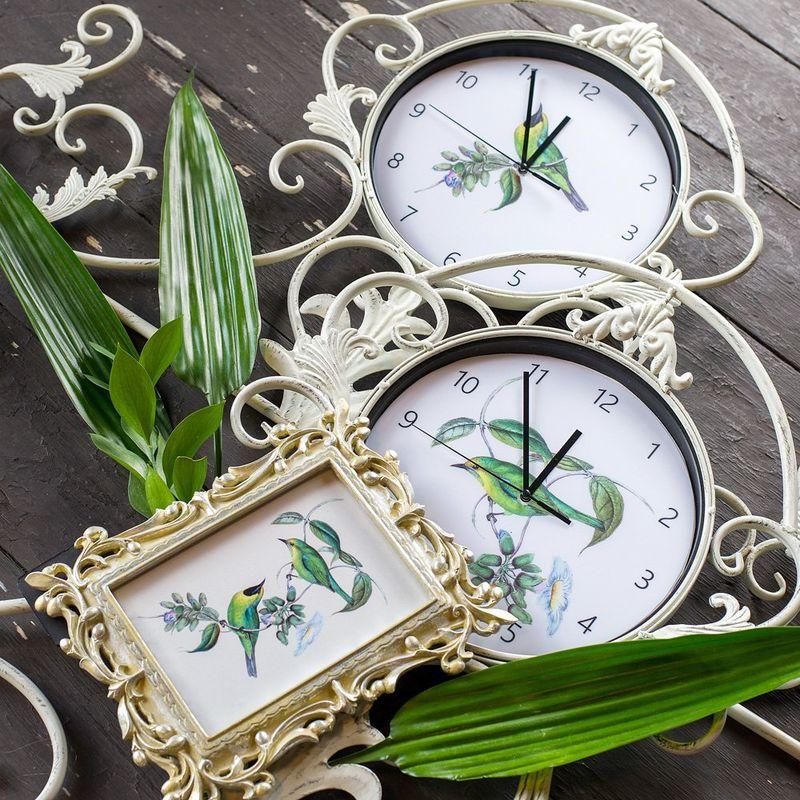 Настенные часы Райские птицы 3112249. Фото №2