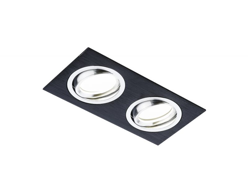 Встраиваемый светильник Ambrella ORGANIC SPOT A601/2 BK