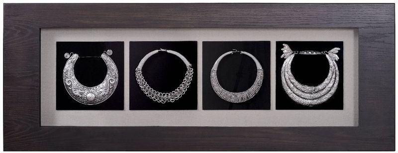 Панно 4 ожерелья 8247