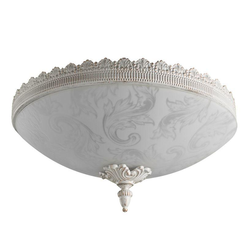 Потолочная люстра Arte Lamp crown A4541PL-3WG
