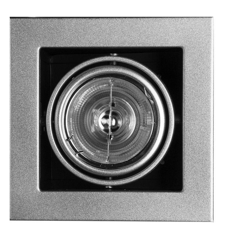 Встраиваемый светильник поворотный Arte Lamp Technika A5930PL-1SI