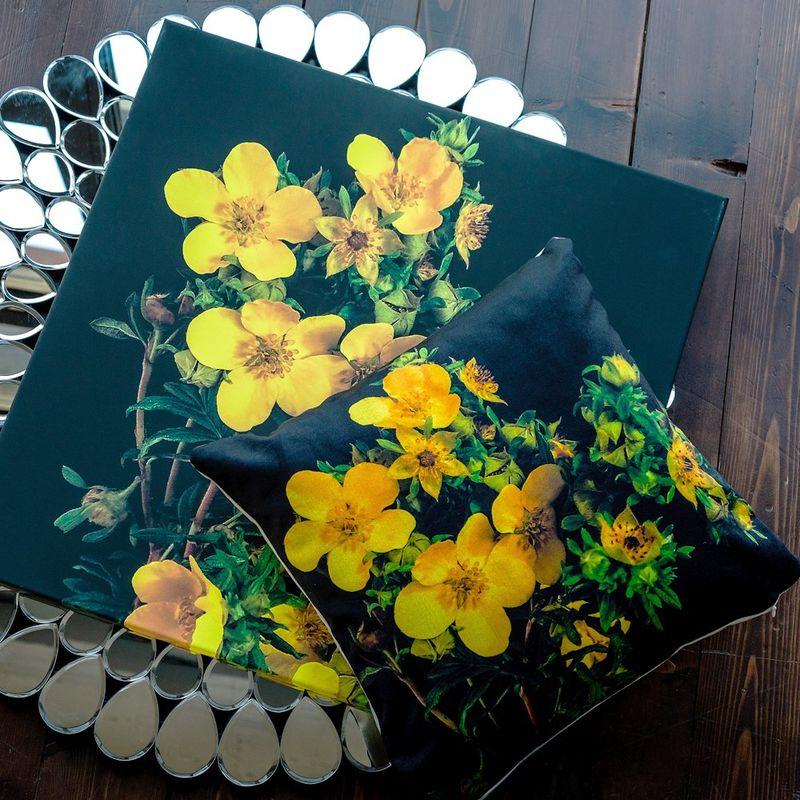Интерьерная подушка Spectra Yellow 4112124. Фото №1