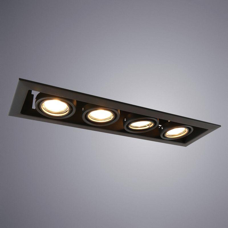 Уличный светильник Arte Lamp Cardani piccolo A5941PL-4BK