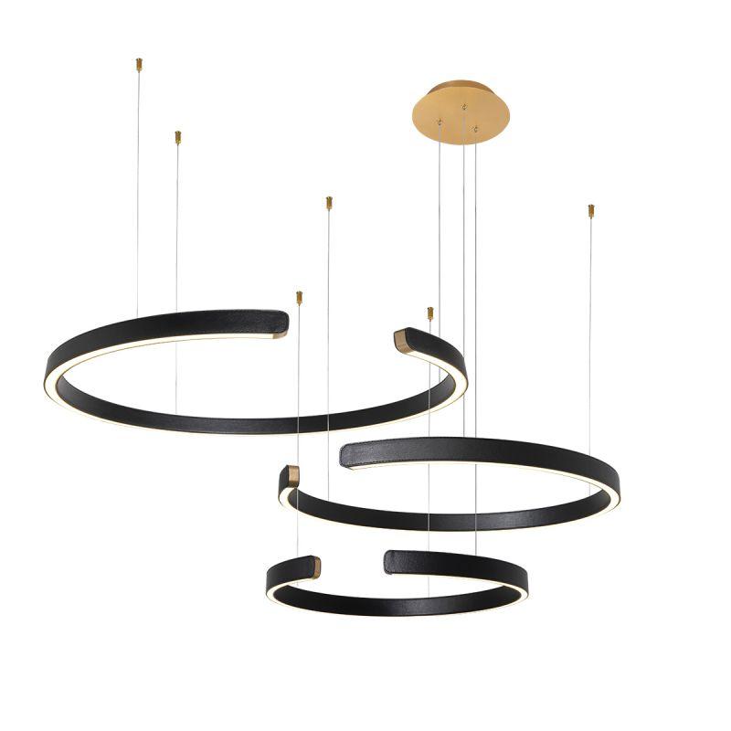 Подвесной светильник Loft It Ring 10025/3 Black