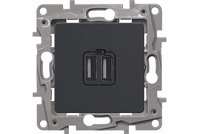 Зарядка USB Legrand Etika BD-1214980