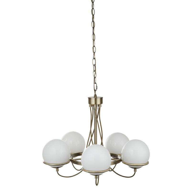 Люстра подвесная Arte Lamp bergamo A2990LM-5AB