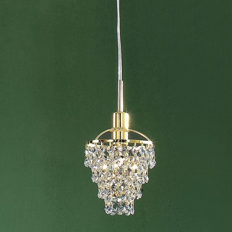 Светильник подвесной Контур Золото CL322211. Фото №2