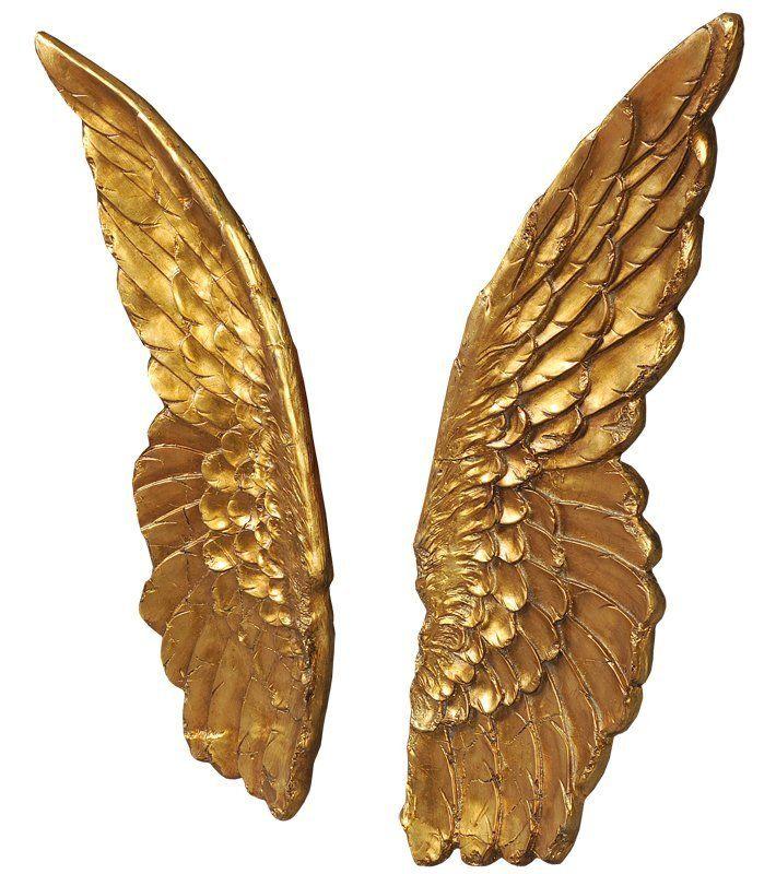 Панно Крылья золотые 16775G. Фото №1