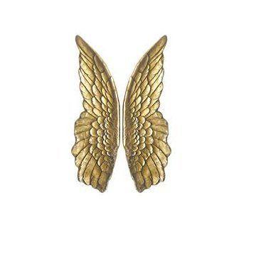 Панно Крылья золотые 16775G. Фото №2