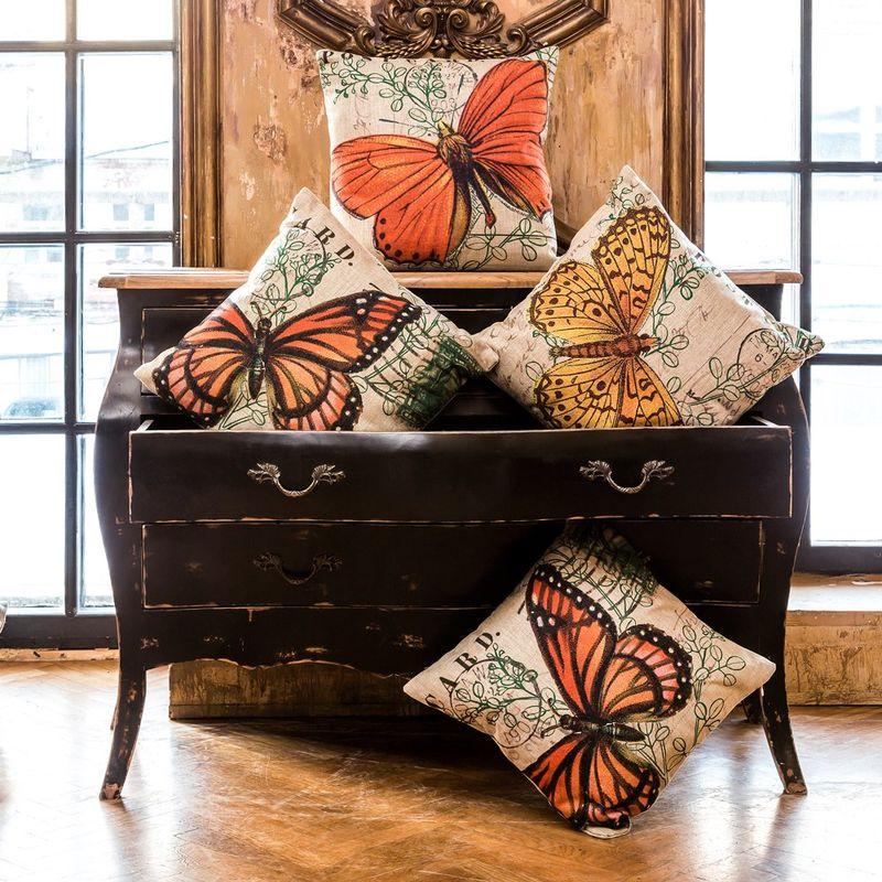 Красивые подушки для интерьера