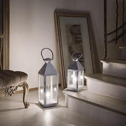 Настольная лампа Ideal Lux Mermaid TL1 Big Bianco Antico. Фото №2