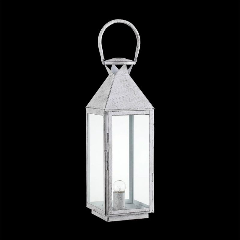 Настольная лампа Ideal Lux Mermaid TL1 Big Bianco Antico. Фото №3