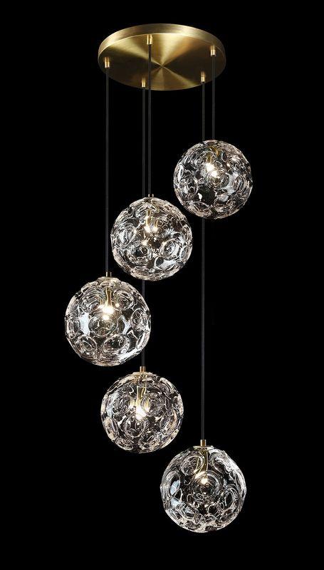 Светильник подвесной Glassburg Light LUNA GB_5005