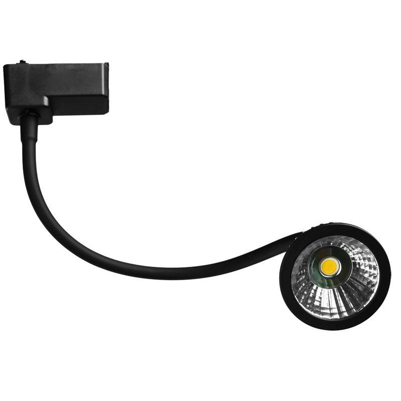 Трековый светильник Arte Lamp track lights A4107PL-1BK