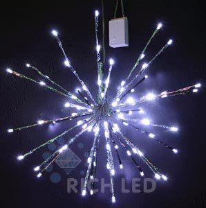 Светодиодный ёжик-трансформер RL-TB45-WWW