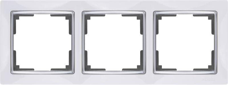 Рамкана3поста(белый W0031901