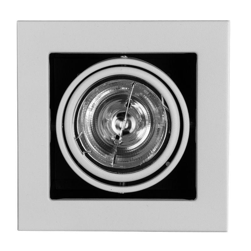 Встраиваемый поворотный светильник Arte Lamp Technika A5930PL-1WH