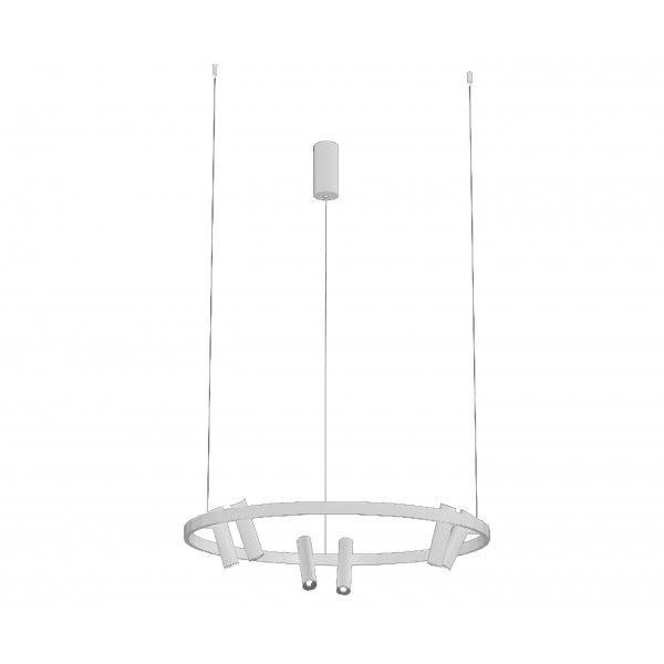 Подвесной светильник Kink Light алюминий+акрил 08232,01