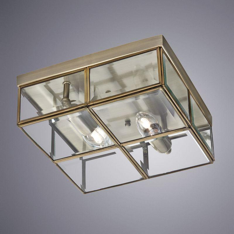 Светильник потолочный Arte Lamp Scacchi A6769PL-2AB