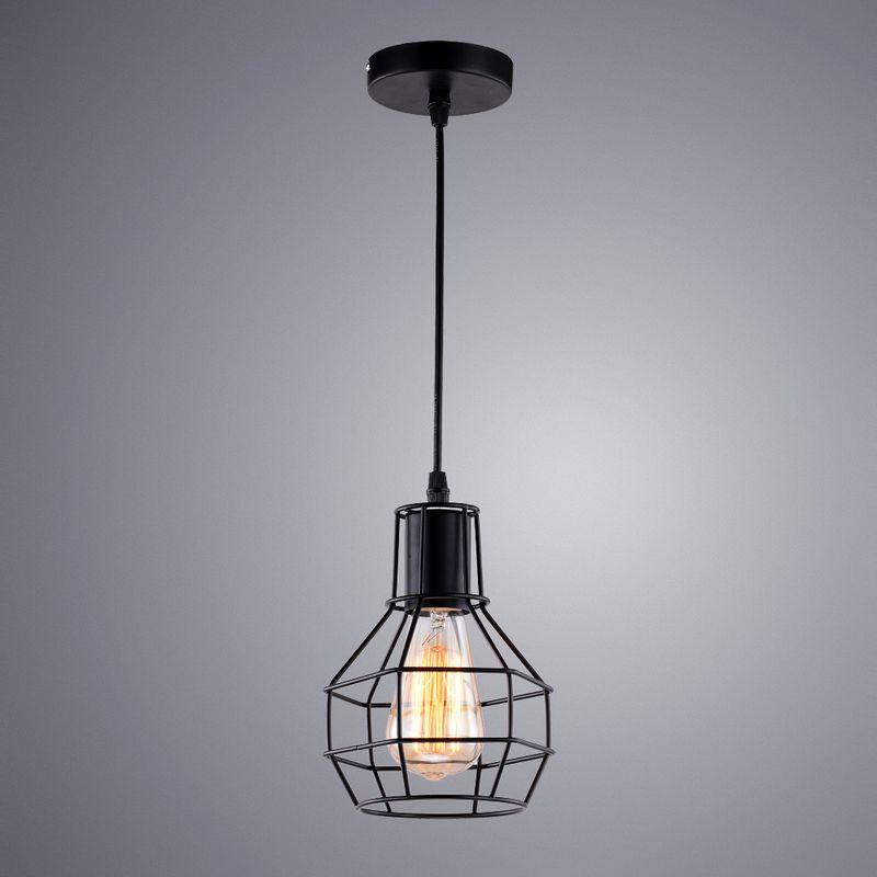 Светильник подвесной Arte Lamp A1109 A1109SP-1BK