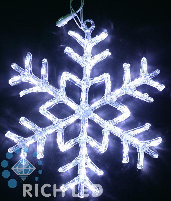 Снежинка светодиодная RL-SF70-W